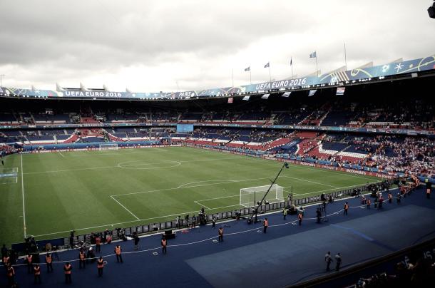 Estadio Parque de los Príncipes. Foto: Stadiumdb.com