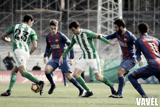 Pardo en su etapa en el Real Betis. Foto: Juan Ig. Lechuga (VAVEL)