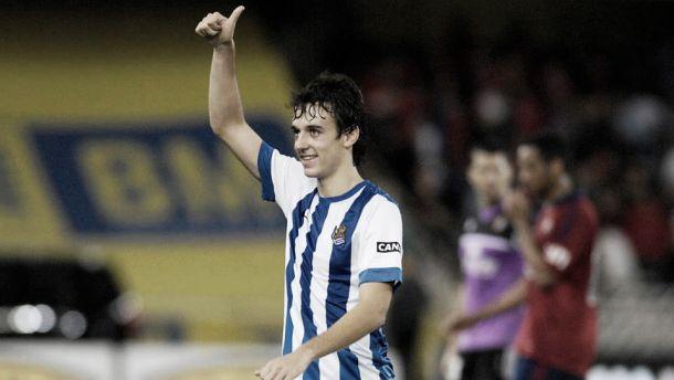 Rubén Pardo. | Foto: Real Sociedad