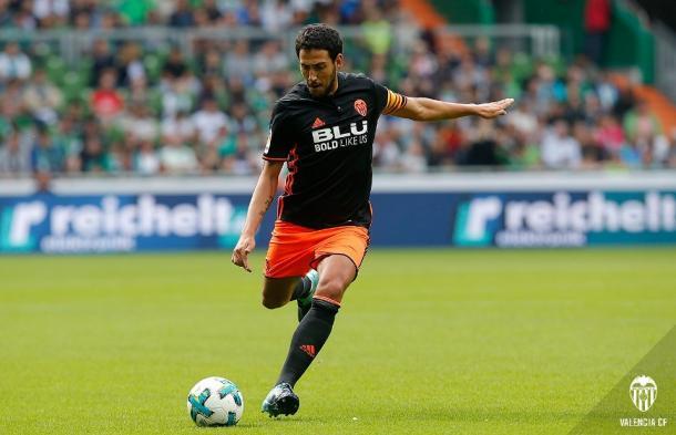 Parejo marcará el tiempo de juego en el Valencia de Marcelino   Fuente: valenciacf.com