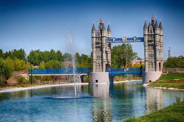Parque Europa en Torrejón de Ardoz. Foto: parque-europa.es