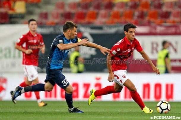 Imagen del último partido del Dinamo de Bucarest
