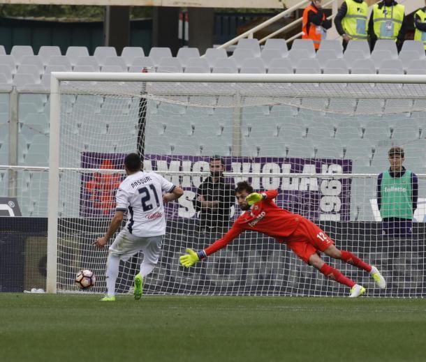 Il rigore di Pasqual, www.sportmediaset.mediaset.it