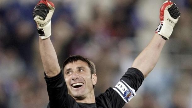 Abbondazieri, portero del cuadro getafense en la 2006/2007 // Fuente: Getafe CF