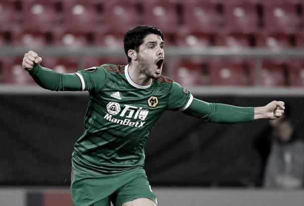 Gol de Paulo Neto./ Foto: Europa League