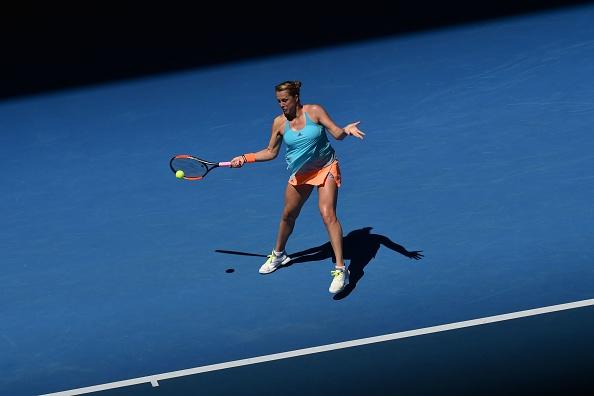 Pavlyuchenkova was far too good for Kuznetsova (Photo by Paul Crock / Getty Images)