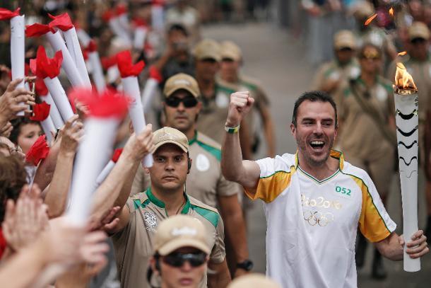 Peçanha, teve que abandonar a carreira no Atletismo por conta de uma lesão, dias antes da disputa dos jogos do Rio. (Foto: Andre Luiz Mello/Rio 2016)