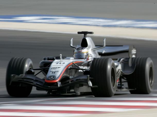 Pedro de la Rosa, durante el GP de Bahréin 2005 | Foto: motorsport.com
