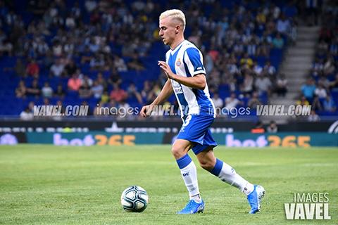 Pedrosa fue de los mejores del Espanyol en la primera parte | Foto: VAVEL