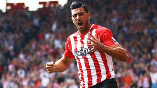 Pelle had a successful goal-scoring record on the south coast | Image: Sky Sports