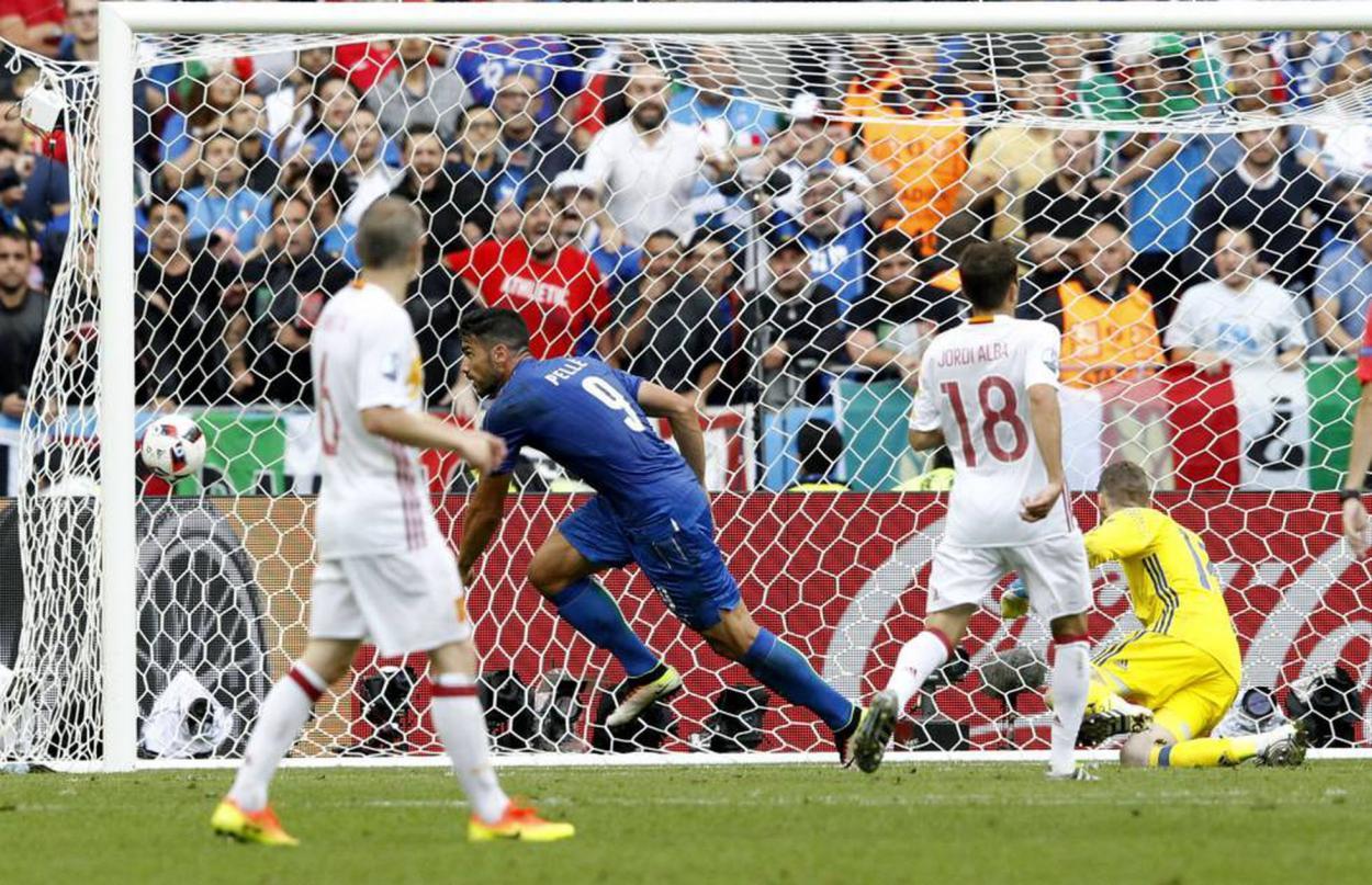 Gol de Pellé en el minuto 91   Foto: UEFA