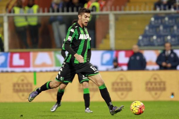 Lorenzo Pellegrini, centrocampista del Sassuolo di proprietà della Roma - LA Roma 24