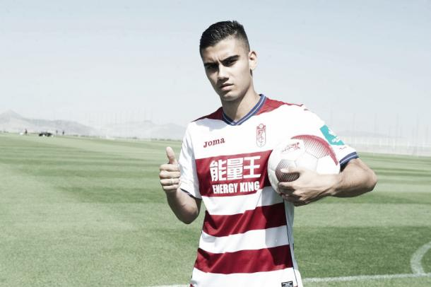 Pereira has made one appearance for loan club Granada this term | Photo: EFE