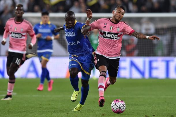 The midfielder made 13 appearances for Juventus last season (Photo: Getty Images)