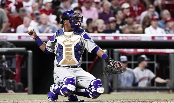 After getting to the All Star Game in 2015, Salvador Perez looks poised to return in 2015. (Photo: Mark Cunningham/ Getty Images Sports)