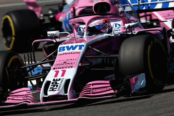 Sergio Pérez durante el Gran Premio de Alemania | Fuente: Getty Images