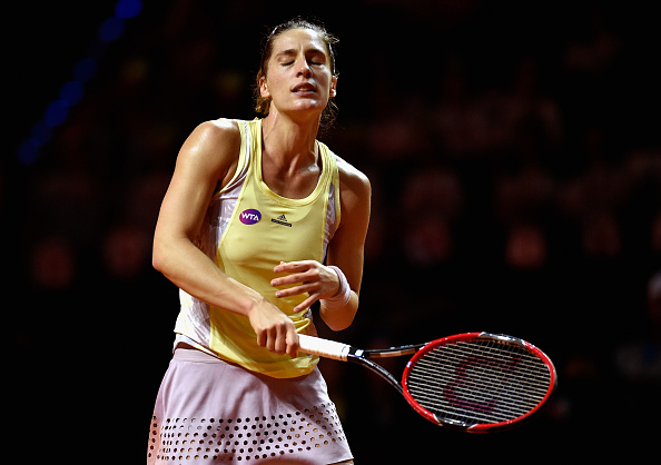 It was another dissapointing day for Andrea Petkovic. Photo: Dennis Grombkowski/Getty Images