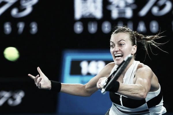 Petra Kvitova durante la final del Open de Australia 2019. Foto: zimbio.com