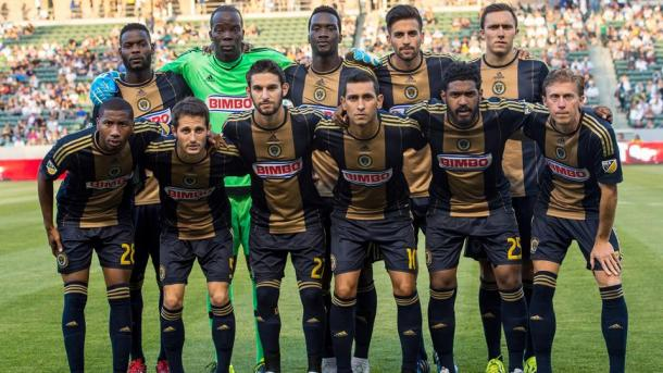 The Philadelphia Union have surprised the season with 13 points in eight matches. Photo provided by Getty Images.