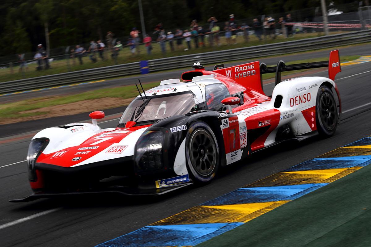 El poleman de las 24 horas de Le Mans: Foto Toyota Gazoo Racing