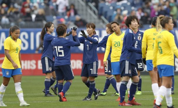Japan has grown with each game | Source: Kyodo News