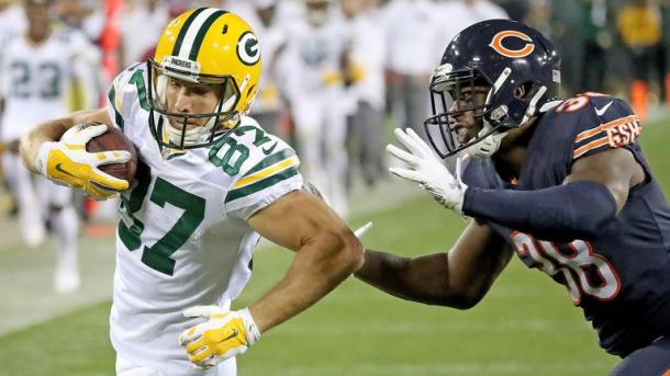 The Bears defense racked up too many penalties to overcome | Source Associated