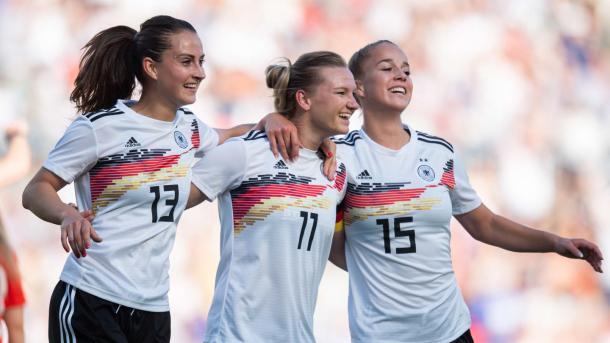 Futbolistas alemanas / Foto: FIFA