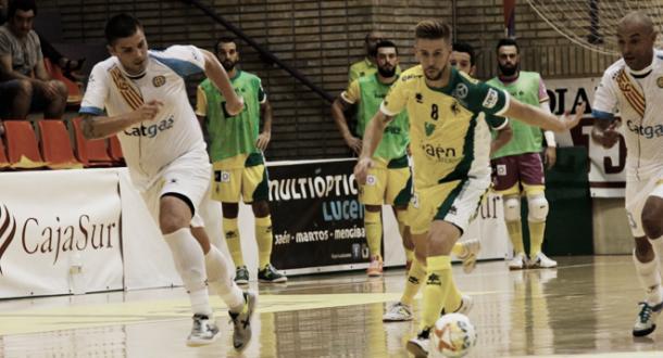 Primer partido en La Salobreja de la temporada 2017/2018 | Foto: LNFS