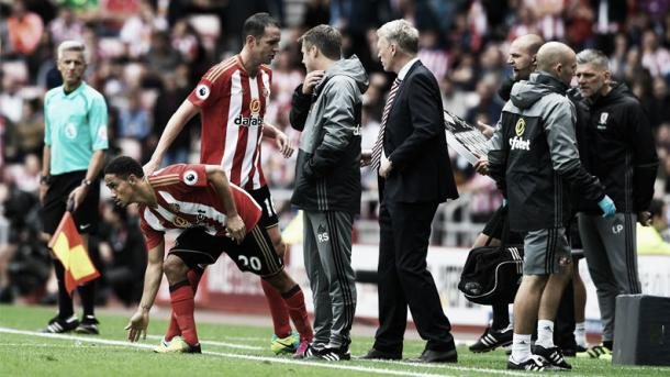 Pienaar made his debut in central midfield, rather than the wide role he is accustomed to. (Photo: Sunderland AFC)