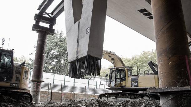 Columnas de soporte del techo | Foto: NHL.com