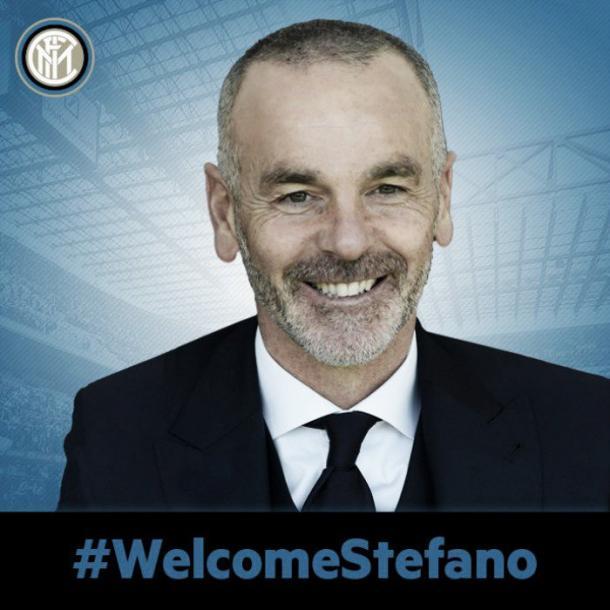 Il benvenuto a Stefano Pioli da parte della società nerazzurra.