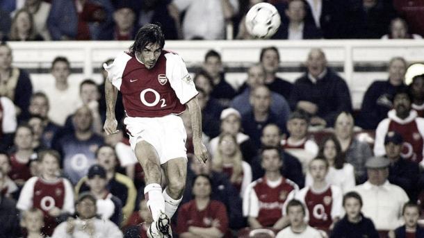 Robert Pires./ Foto: Premier League