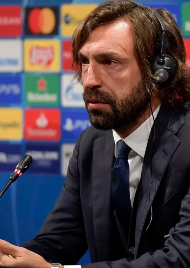 Pirlo durante la rueda de prensa previa / FOTO: Juventus