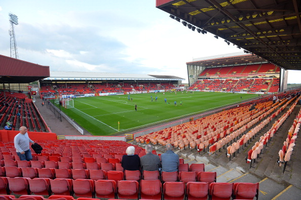 Pittodrie Stadium é onde o clube manda seus jogos desde a fundação da agremiação (Foto: Getty Images)