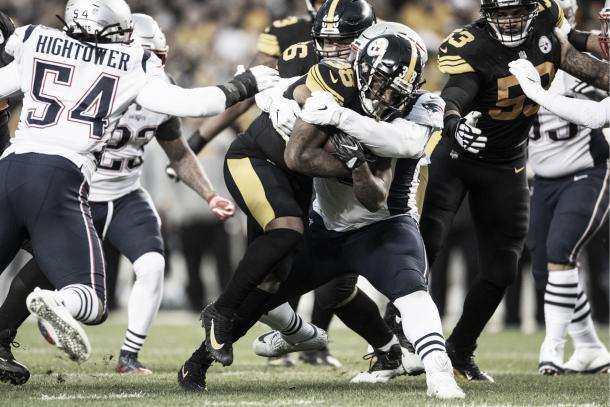 Jaylen Samuels sorprendió en su debut | Foto: Steelers.com