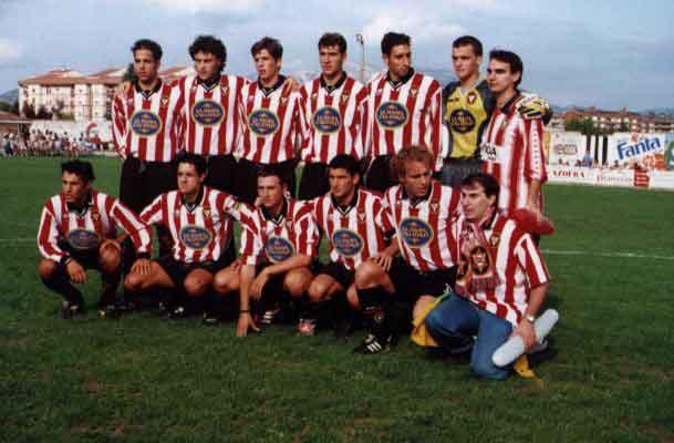 Once Logroñés en la 87/88 (debut en Primera)  (fuente imolsa55.net)