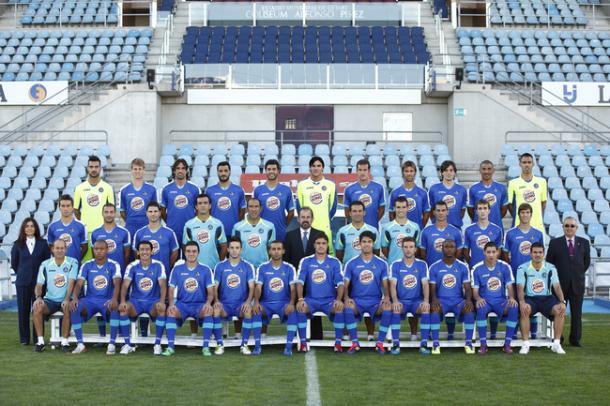 Plantilla del Getafe en la temporada 2011-12. Fuente: Getafe