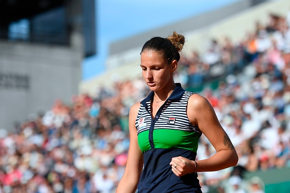 Pliskova eventually got over the line, and the victory could put her in a very good position to win the French Open (Photo by Lionel Bonaventure / Getty)