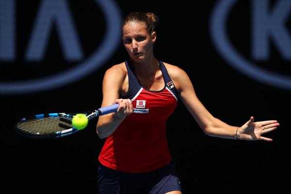 Pliskova had a good start to the year in Australia (Photo by Clive Brunskill / Getty)