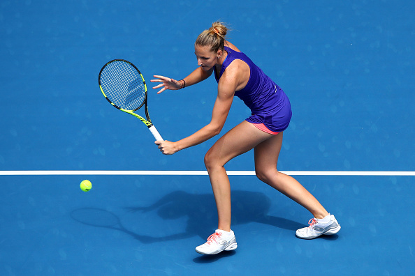 Pliskova committed 34 unforced errors, which let her down in this match (Photo by Cameron Spencer / Getty Images)