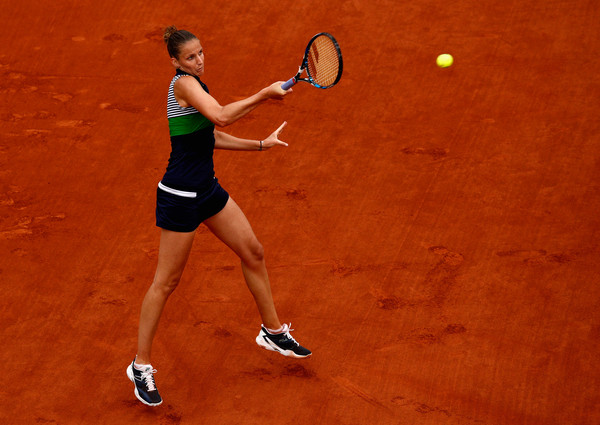 The world number one made a surprising run to the semifinals in Paris (Photo by Adam Pretty / Getty)