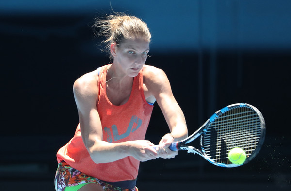 Pliskova came close to winning her first Grand Slam singles title at the US Open last year, but she will be hoping to go one step further in Melbourne (Photo by Scott Barbour / Getty Images)