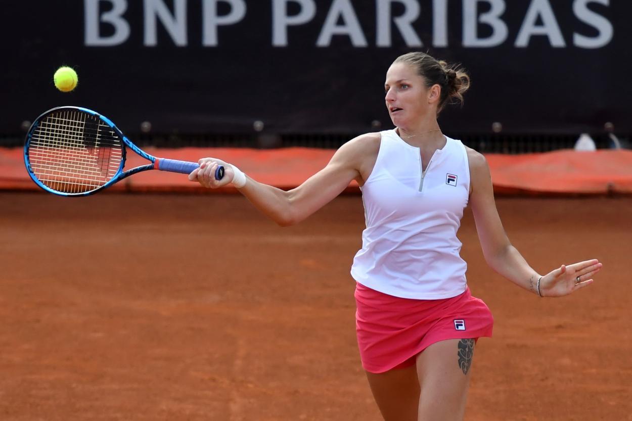 Pliskova é atual vice-campeã do torneio (Foto: Internazionali BNL d'Italia)