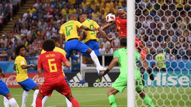 A unfortunate own goal put Belgium ahead early | Source: Getty Images via FIFA.com