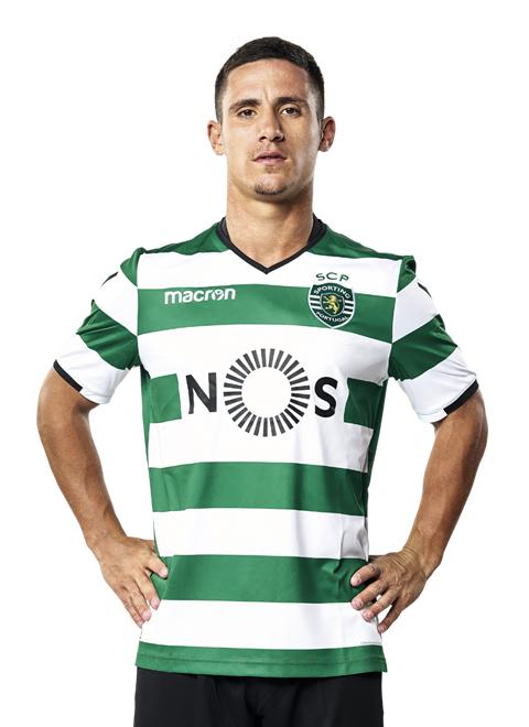 Daniel Podence   Fuente: sporting.pt