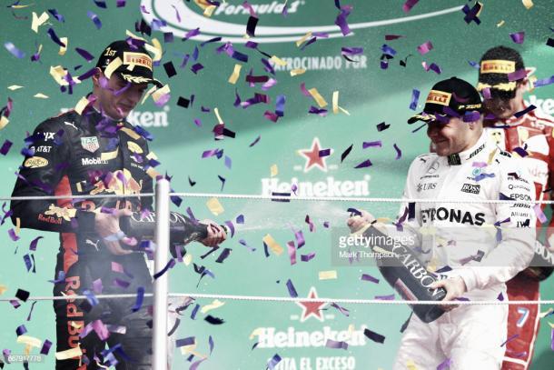 Podio del GP de México 2017 | Fuente: Getty Images