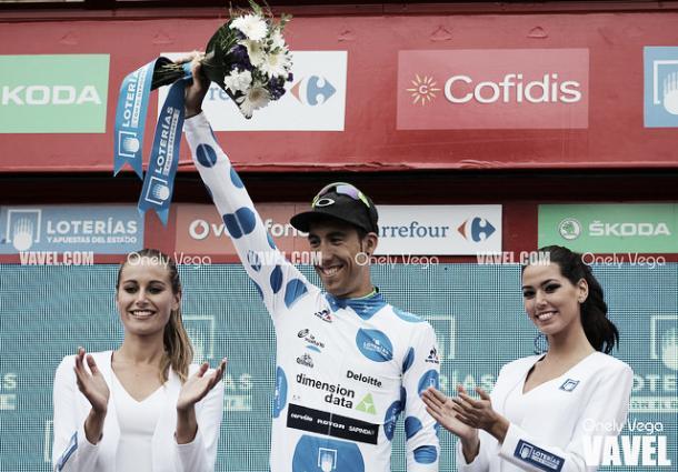 Omar Fraile buscará su tercer maillot de la montaña / Fuente: Vavel