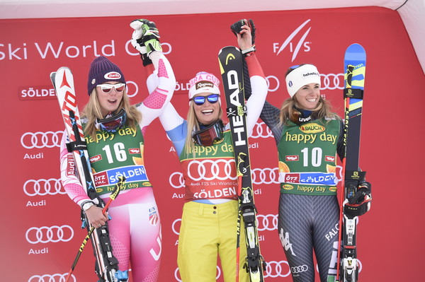 The final podium. | Photo: Michel Cottin/Agence Zoom/Getty Images Europe