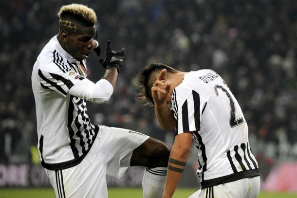 Dybala doesn't want friend and teammate Pogba to leave (photo; Getty)