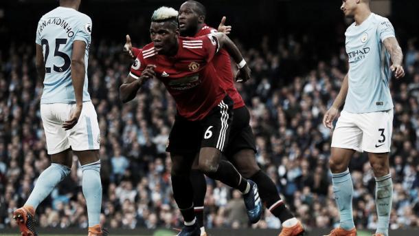 Pogba, uno de los héroes de la tarde   Foto: Premier League